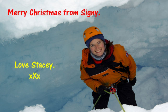 Stacey down at Signy