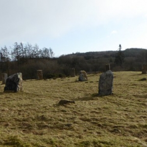 The Stone Circle in winter